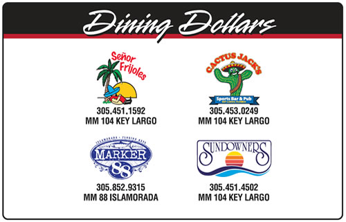 Florida Keys Restaurant Management Gift Cards